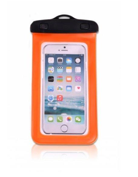 Oranžový vodotěsný obal na mobil ELEMENTS GEAR