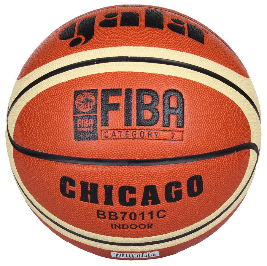 Oranžový basketbalový míč Chicago, Gala - velikost 7