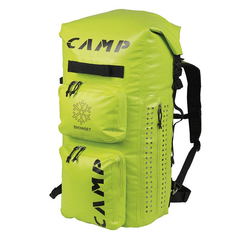 Zelený skialpový batoh Camp - objem 65 l