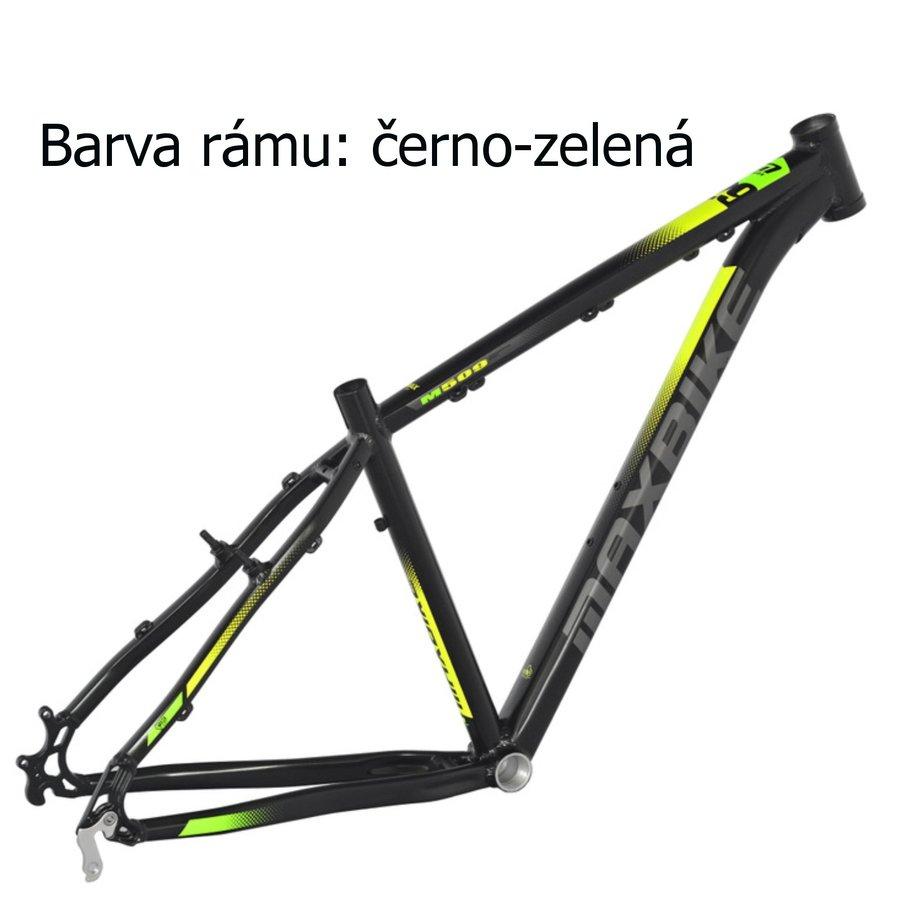 Černo-zelené horské pánské kolo Maxbike