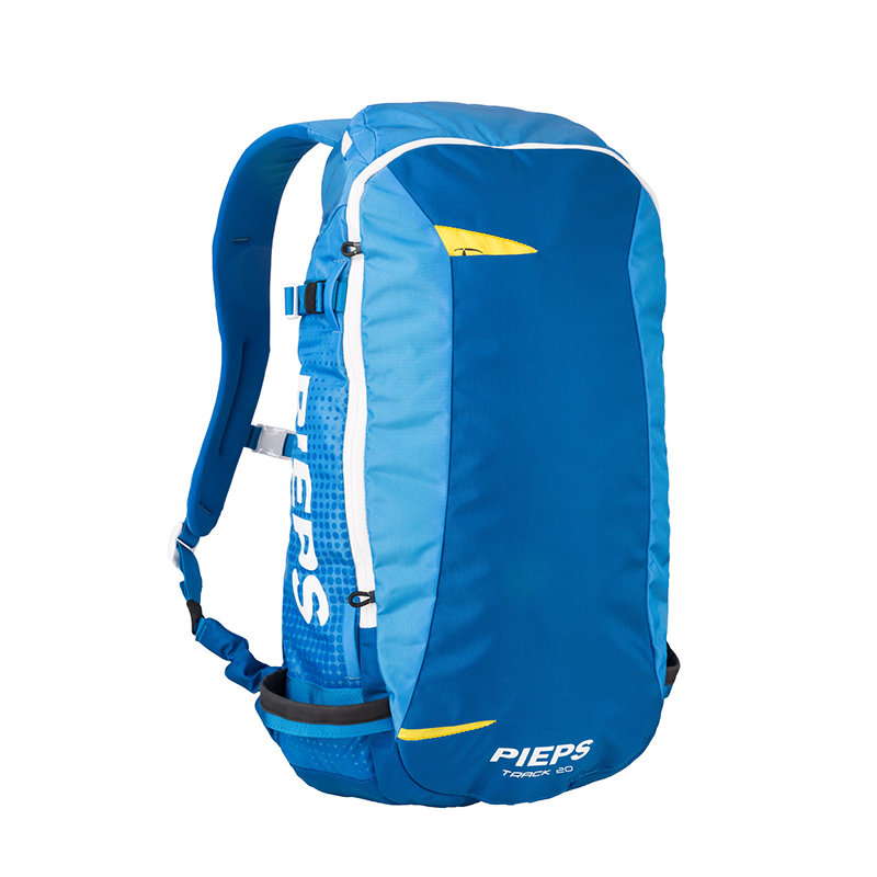 Modrý skialpový batoh Pieps - objem 20 l