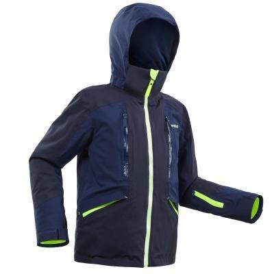 Modrá dětská lyžařská bunda Wed'ze