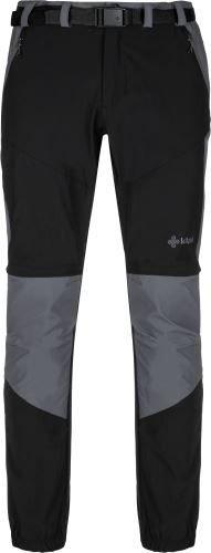 Černé pánské turistické kalhoty Kilpi - velikost XXL