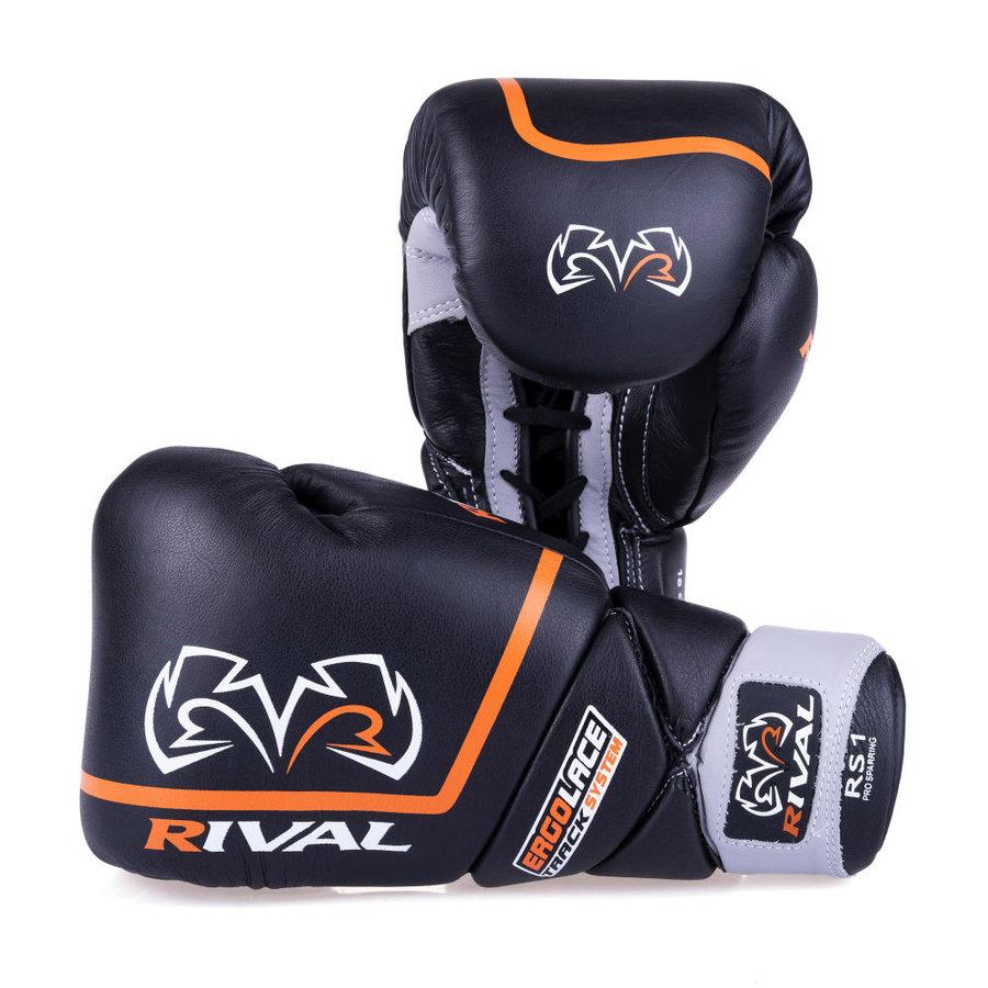 Černé boxerské rukavice Rival