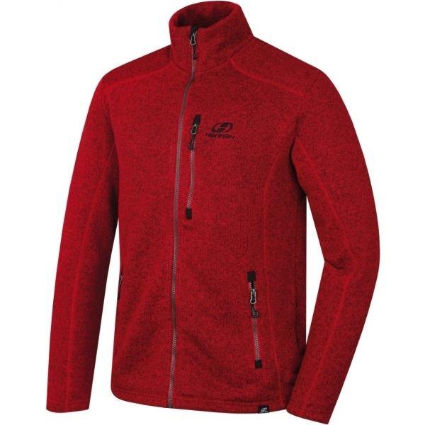 Červený pánský svetr Hannah