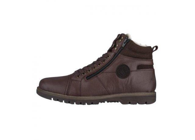 Hnědé pánské zimní boty Rieker