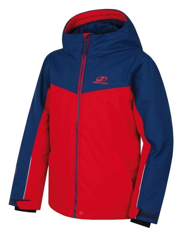 Červená dětská lyžařská bunda Hannah - velikost 140