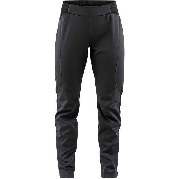 Černé softshellové dámské kalhoty Craft
