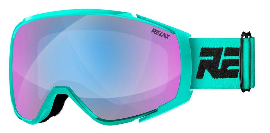 Modré lyžařské brýle Relax