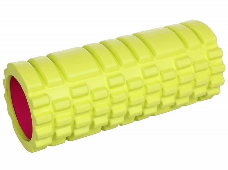 Zelený jóga válec Merco - průměr 15 cm