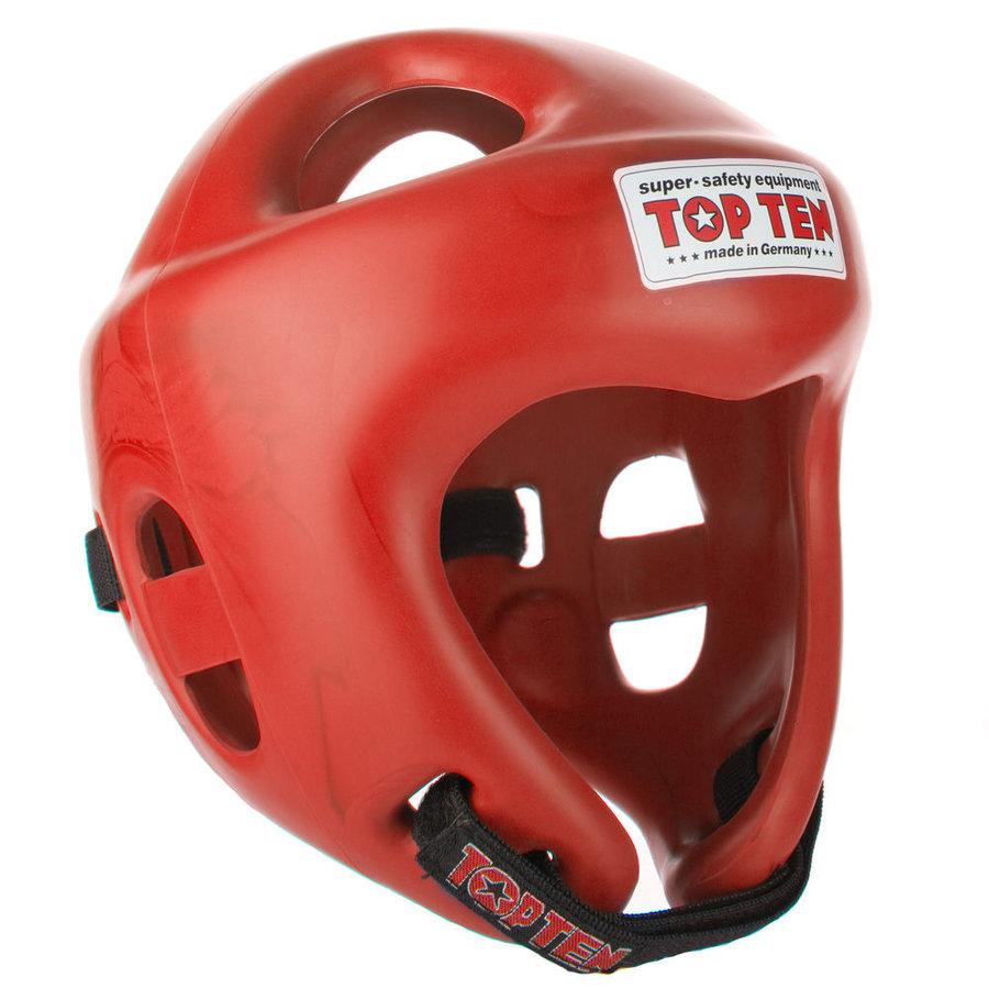 Červená boxerská přilba Top Ten