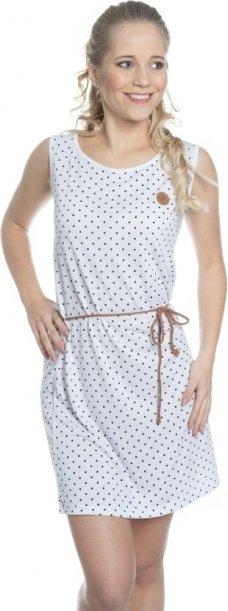 Bílé dámské šaty Sam 73