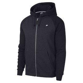 Černá pánská mikina s kapucí Nike - velikost S