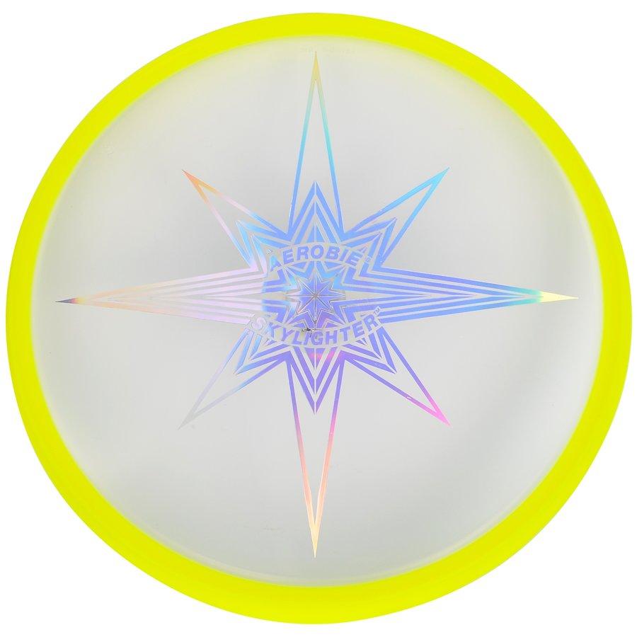 Žluté plastové frisbee Aerobie - průměr 30 cm