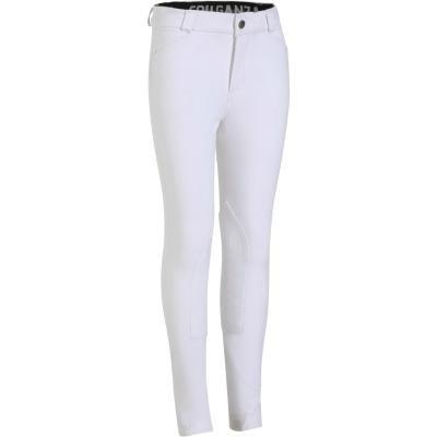 Bílé jezdecké kalhoty Fouganza