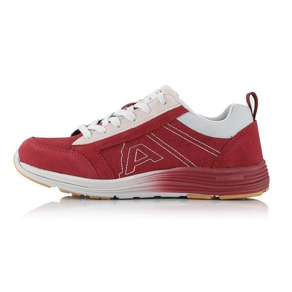 Červené trekové boty Alpine Pro