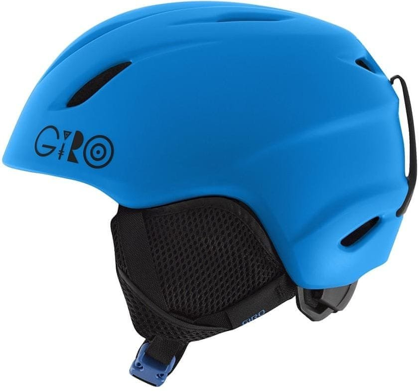 Modrá dětská lyžařská helma Giro - velikost 48,5-52 cm