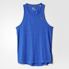 Modré pánské tílko Adidas - velikost S