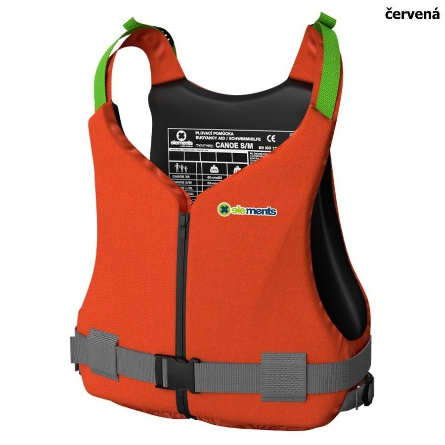Červená plovací vesta Canoe, Elements Gear