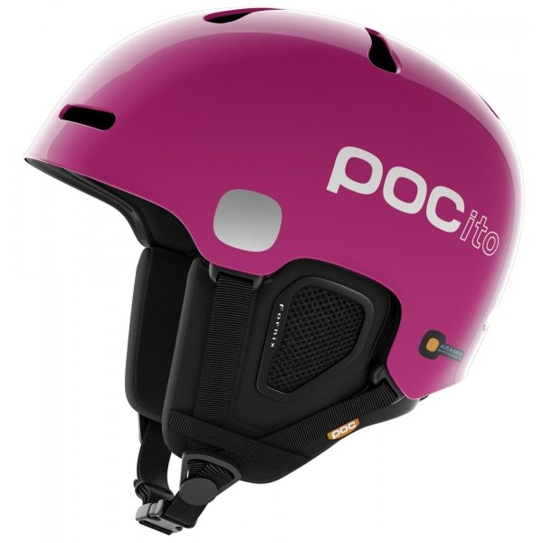 Růžová dámská lyžařská helma POC - velikost 55-58 cm