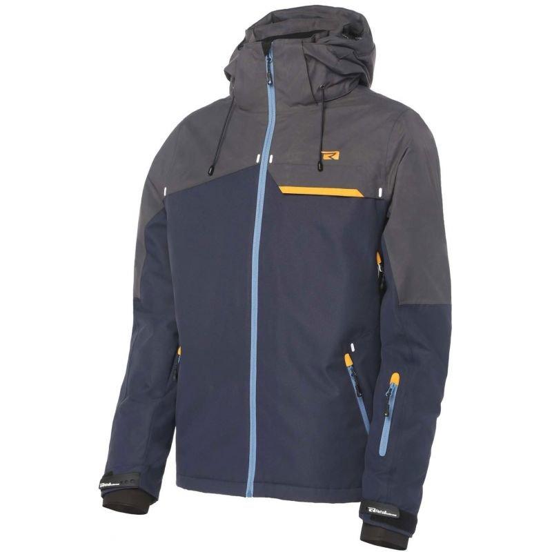 Modro-šedá pánská snowboardová bunda Rehall - velikost XL