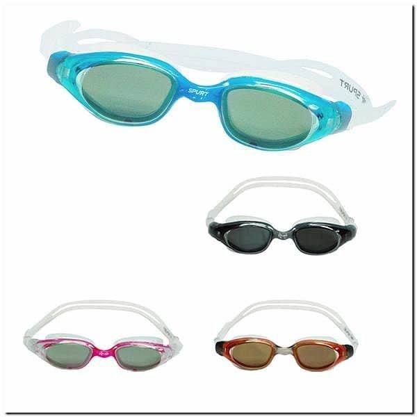 Žluté plavecké brýle UPL02YAF MIRROR, SPURT