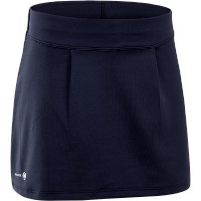 Modrá dívčí tenisová sukně Artengo