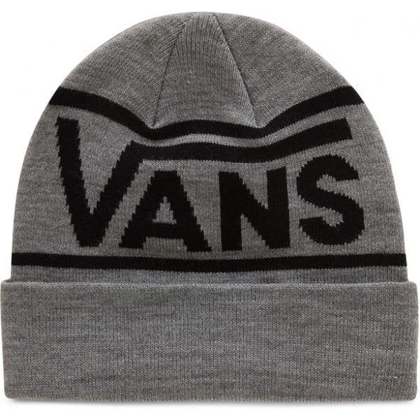 Šedá pánská zimní čepice Vans - univerzální velikost
