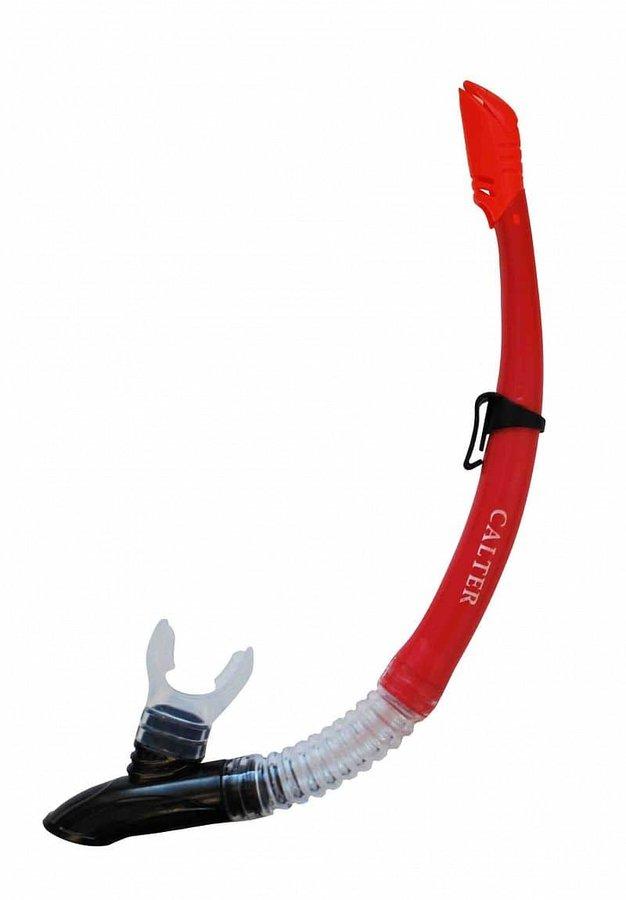 Šnorchl - Šnorchl CALTER ADULT 63PVC-SILICON, červený
