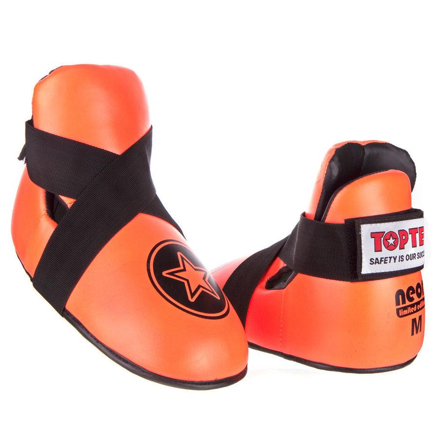 Oranžové chrániče na nohy Top Ten