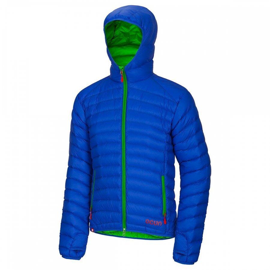Modrá zimní pánská turistická bunda Ocún