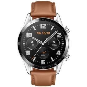 Hnědé chytré hodinky Watch GT 2, Huawei