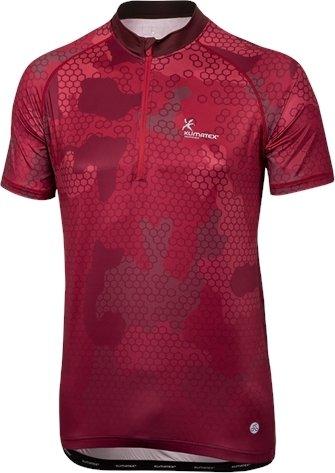 Červený pánský cyklistický dres Klimatex