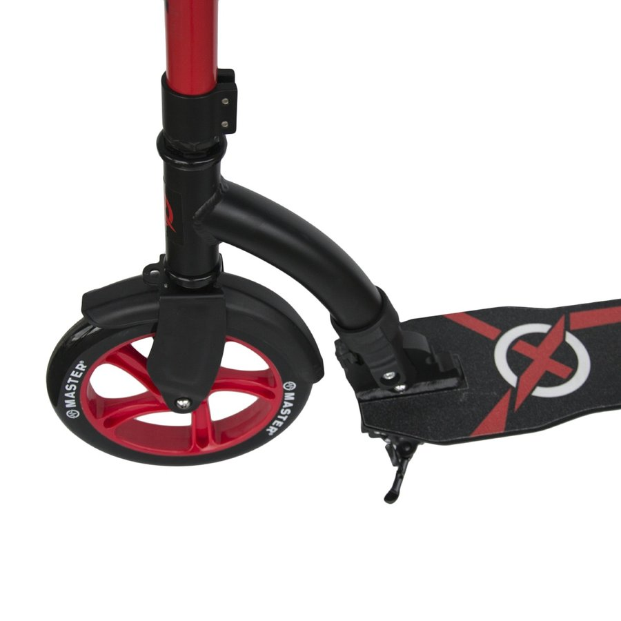 Červená dětská koloběžka Xtrax, Master - nosnost 100 kg