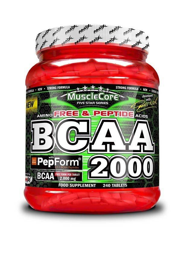 BCAA - Amix MuscleCore® BCAA with PepForm™ 240 tablet