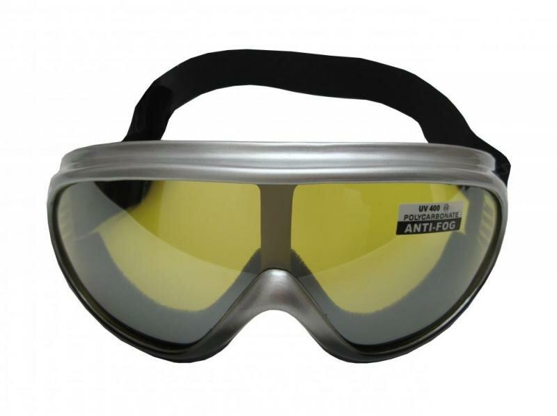 Stříbrné lyžařské brýle Cortini