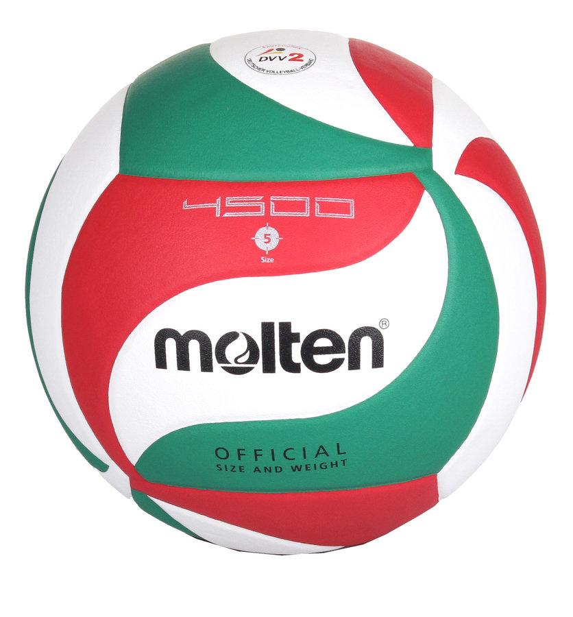 Různobarevný volejbalový míč V5M4500, Molten - velikost 5