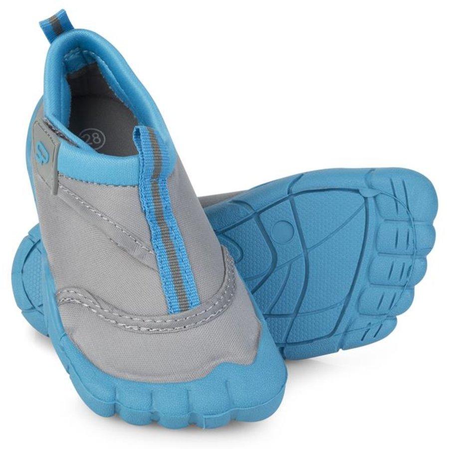 Modro-šedé dětské boty do vody Reef, Spokey - velikost 36 EU