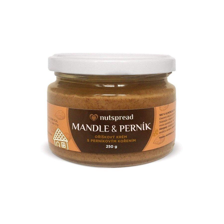 Máslo - 100% mandlové máslo Nutspread s perníkovým kořením 250 g
