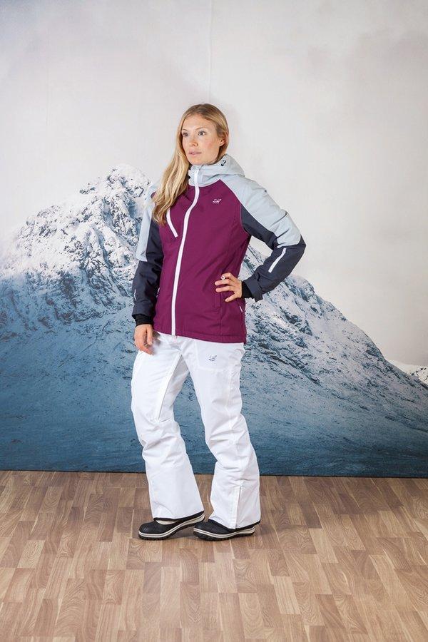 Bílé dámské lyžařské kalhoty 2117 of Sweden