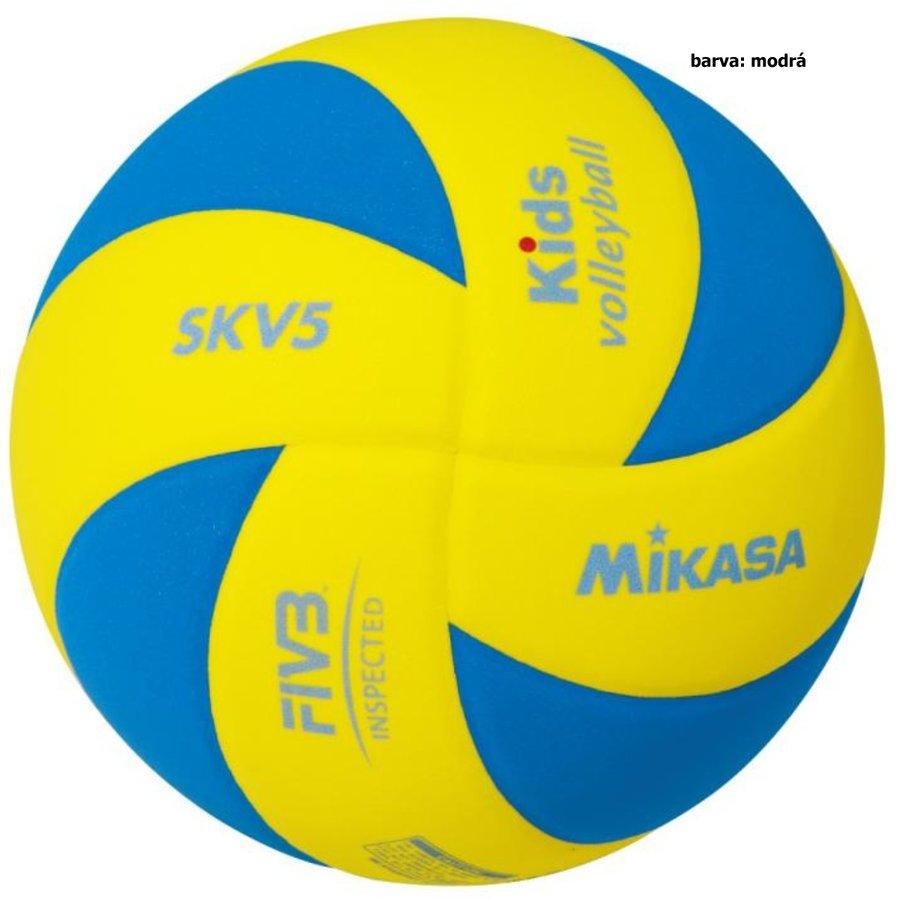 Volejbalový míč - Volejbalový míč MIKASA Kids SKV5 - modrý