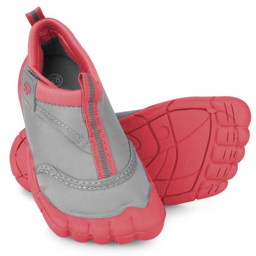 Růžovo-šedé dětské boty do vody Reef, Spokey