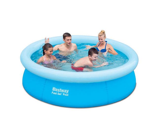 Nadzemní nafukovací kruhový bazén Bestway - průměr 198 cm a výška 51 cm