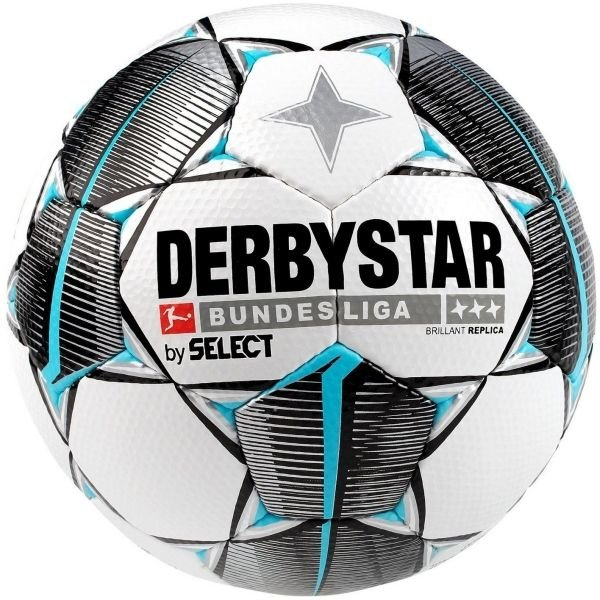 Bílo-černý fotbalový míč Select