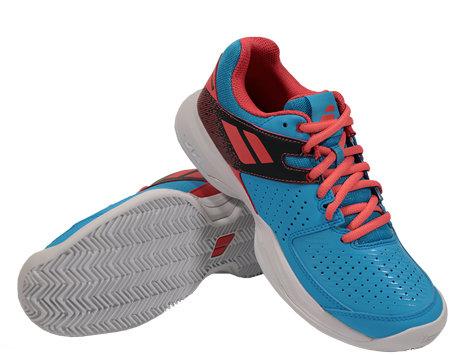 Modrá dámská tenisová obuv Pulsion Clay, Babolat