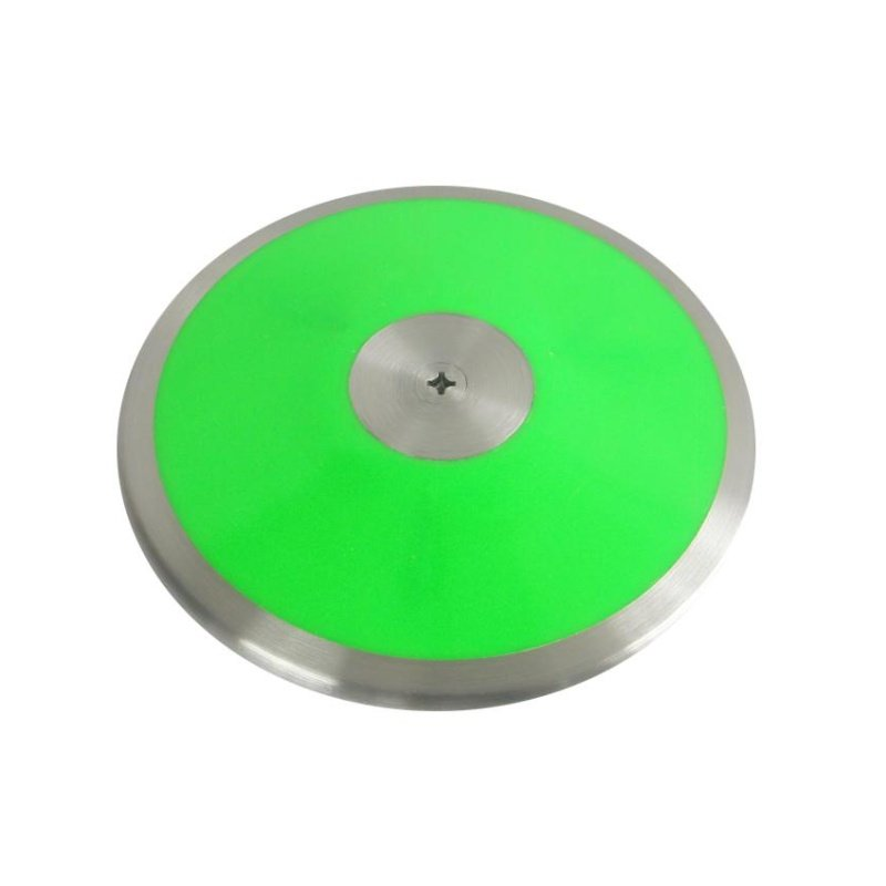 Dřevěno-chromový tréninkový atletický disk Sedco