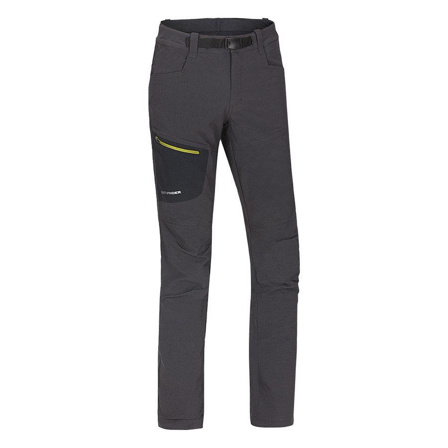 Šedé pánské kalhoty NorthFinder - velikost XXL