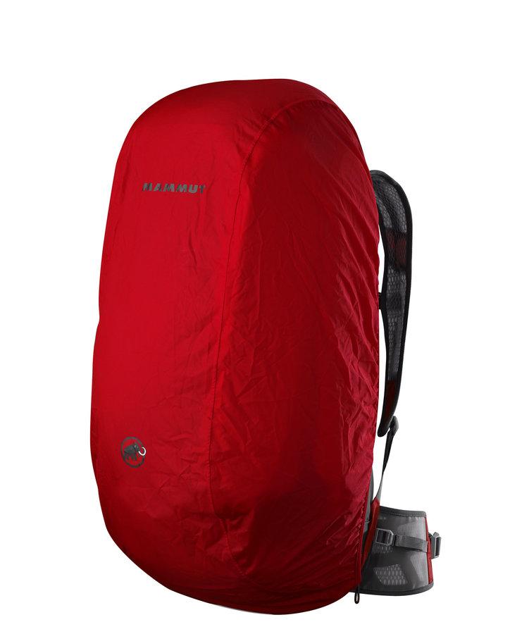 Červená pláštěnka na batoh Mammut - objem 50-100 l