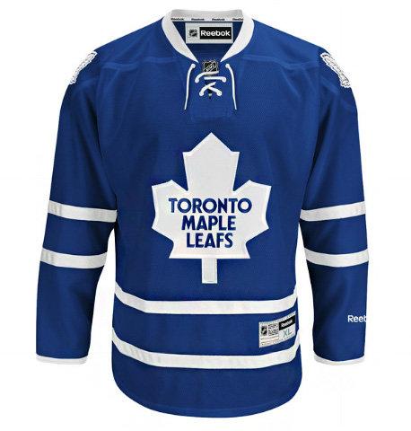Bílo-modrý unisex hokejový dres Premier Toronto Maple Leafs, Reebok