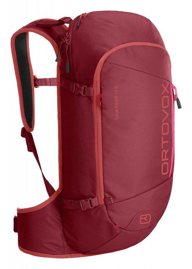 Červený skialpový batoh Ortovox - objem 28 l